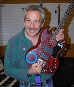 Bass Guitar Player Mike Watt