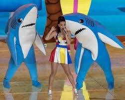 Katy Perry Left Shark Performance