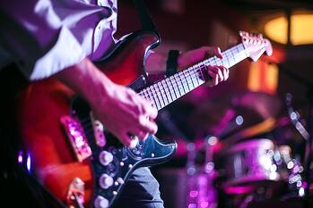 Guitarist Mixing Up Tempo