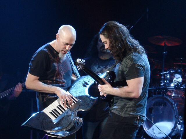 Dream Theater performing the Dark Eternal Night