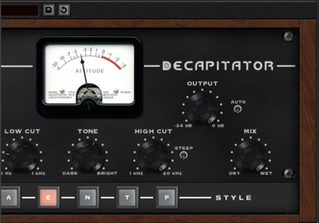 Drum Distortion Plugin | Decapitator