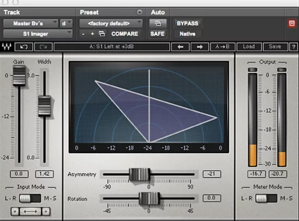 Waves S1 Stereo Imager plugin