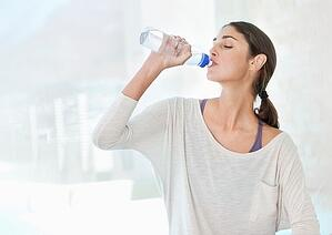 Staying hydrated to protect your voice