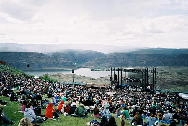 Gorge Amphitheater, Washington