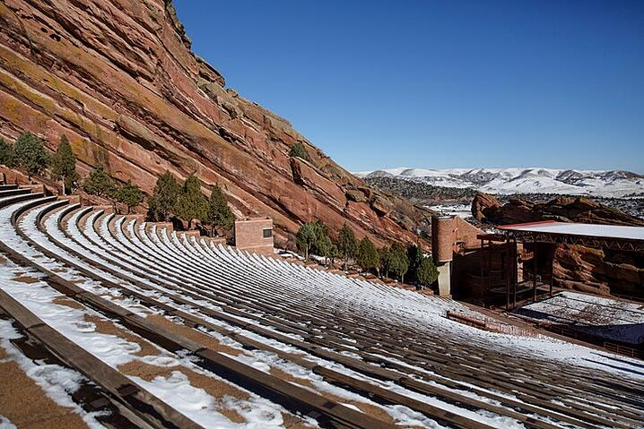 Amazing Red Rocks Amphitheatre