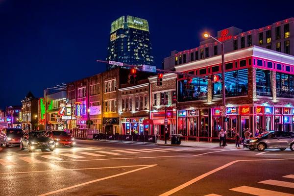 Nashville Tennessee Music City