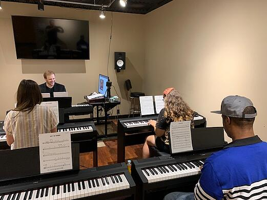 Electronic Keyboard Lessons