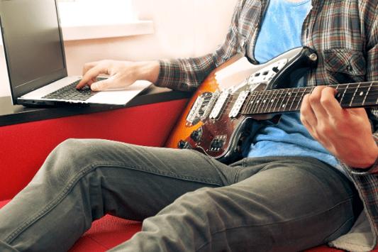 Online guitar school Toronto