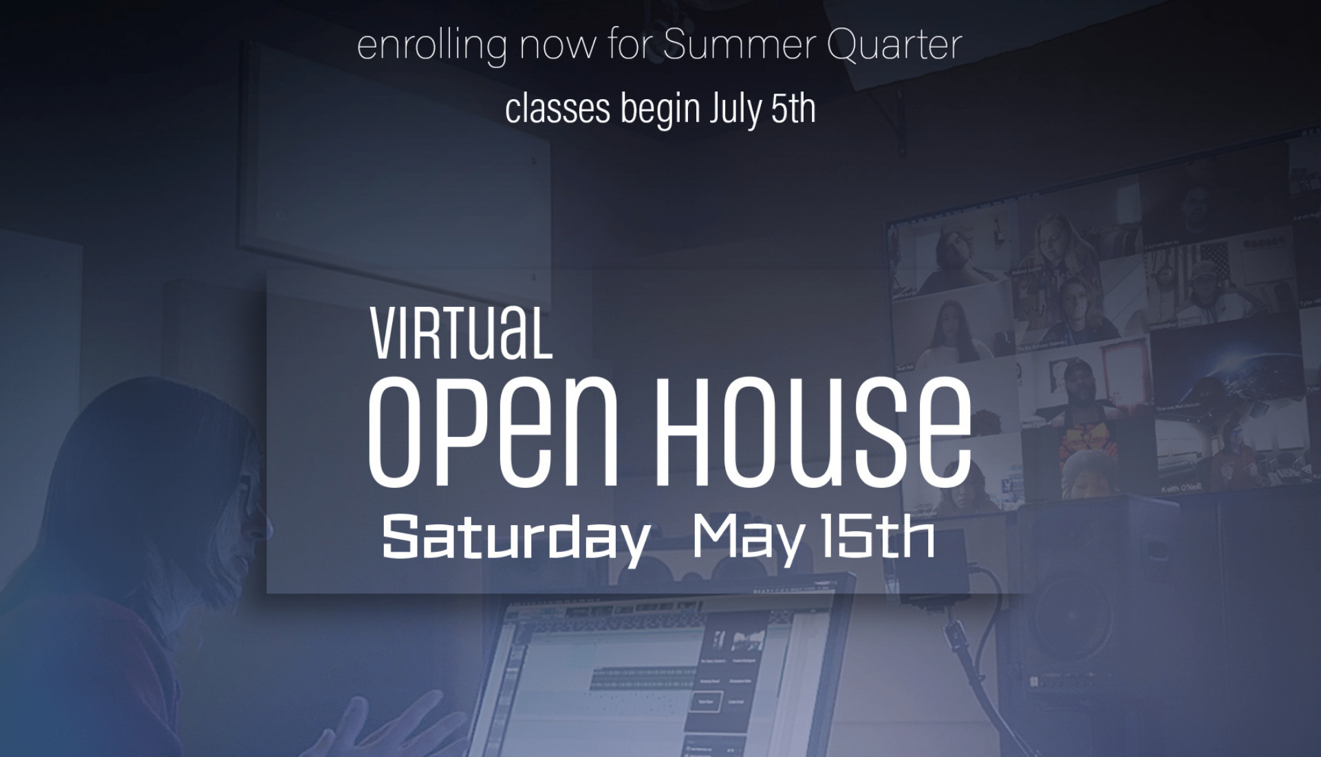 Virtual Open House at AIMM