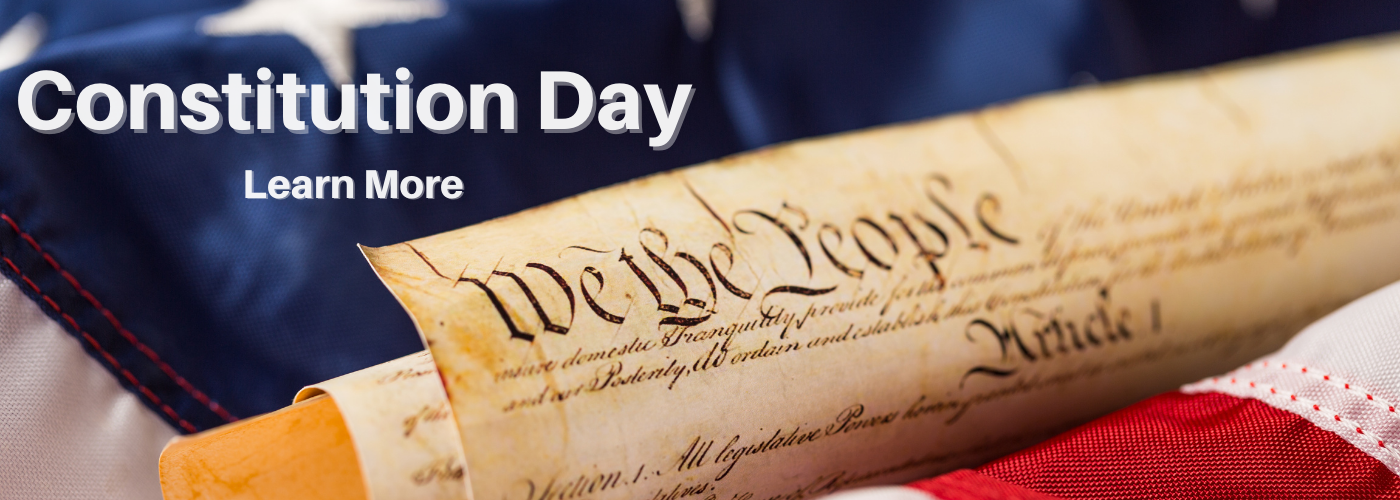constitution day banner