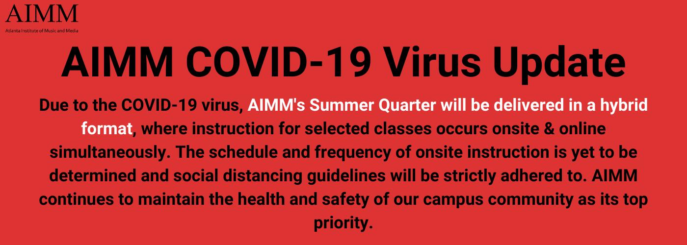 AIMM Springbreak and COVID-19 Virus Update (3)-1