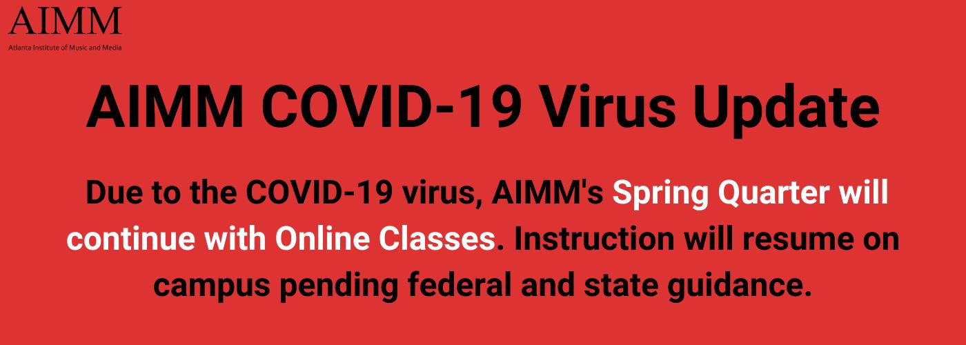 AIMM Springbreak and COVID-19 Virus Update (3)