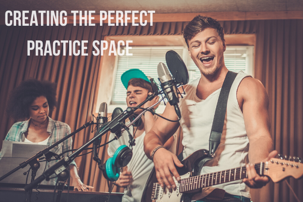 You can create your perfect practice space.