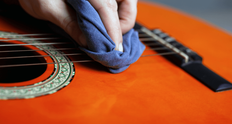 Learn how to keep your guitar clean