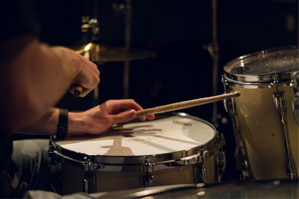 Music and Technology Associate Degree with a Focus in Drums