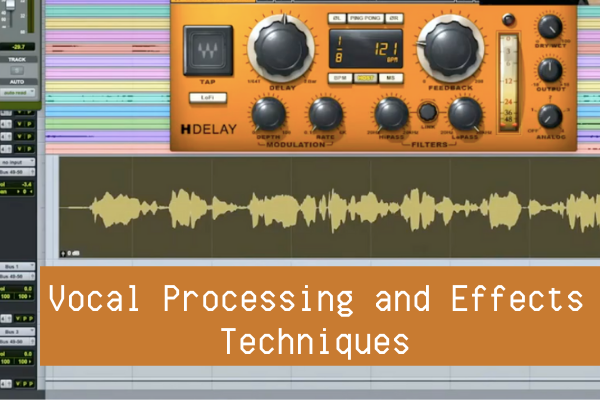 There are numerous things we can do when processing vocals